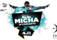 MARTEDI 04 NOVEMBRE, EL MICHA LIVE CONCERT