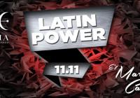 MARTEDI 11 NOVEMBRE, LATIN POWER