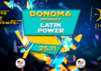 MARTEDI 25 NOVEMBRE, LATIN POWER