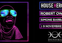 DOMENICA 09 NOVEMBRE, HOUSE HEROES – ROBERT OWENS