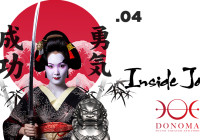 SABATO 15.04.17 – DONOMA'S EVENT: INSIDE JAPAN