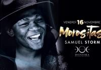 VENERDì 16.11.2018 – MOROSITAS: SAMUEL STORM LIVE SHOW